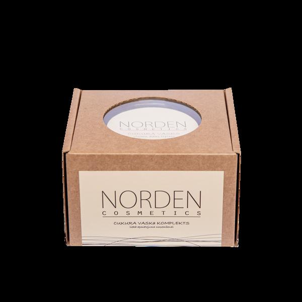 Norden Cosmetics cukura vaska komplekts